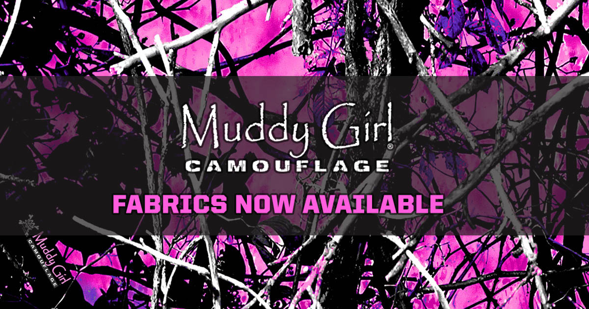Muddy Girl Fabric