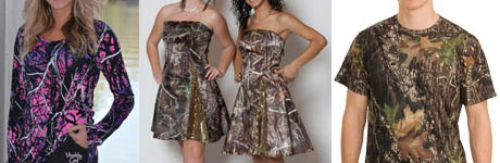 Camo Fabric for Apparel