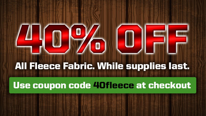 Fleece Fabric Sale